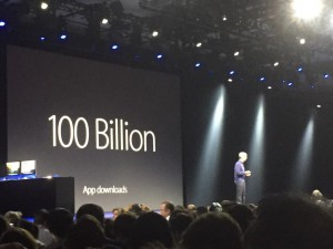WWDC Apple 100 Billion App Downloads