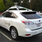 Google Lexus Self Driving Car